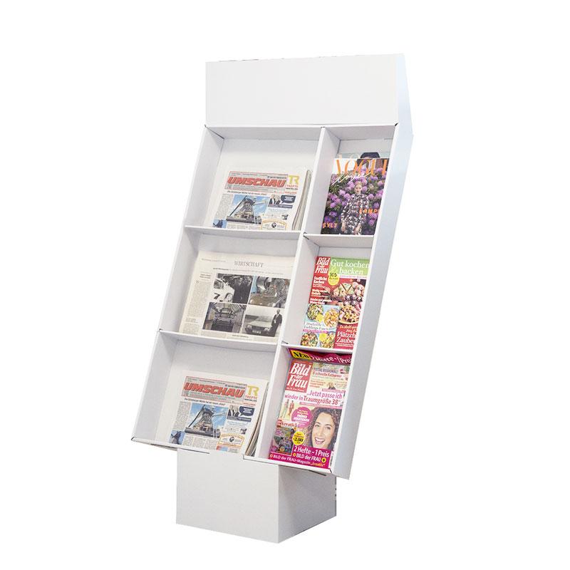 Zellendisplay Bodenaufsteller   Zeitungen & Magazine