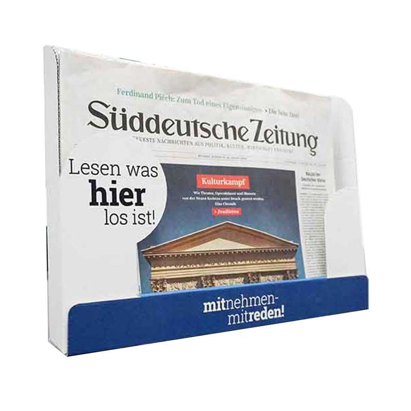 Tischaufsteller / Regalschale | Zeitungen