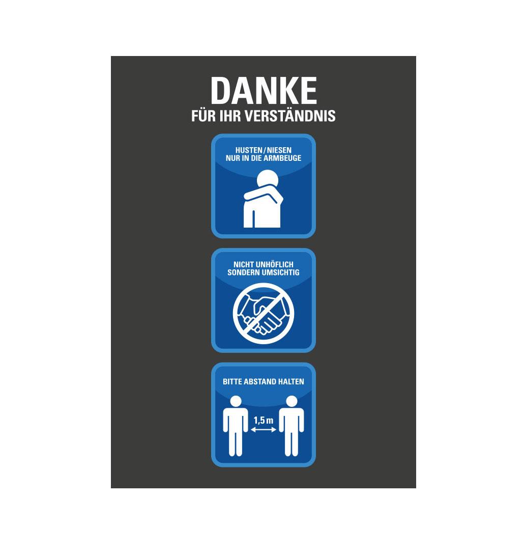 Plakat Hygieneregeln - kostenlos