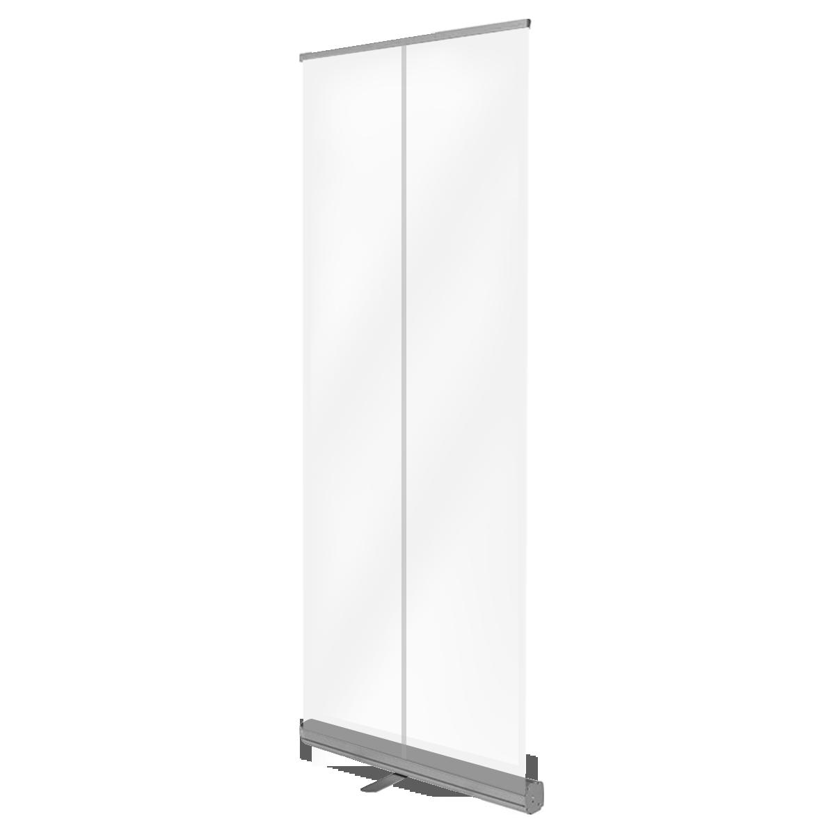 Mobile Schutzwand / transparent