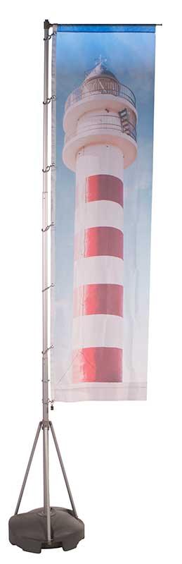 Mobiler Fahnenmast Flagpole 415