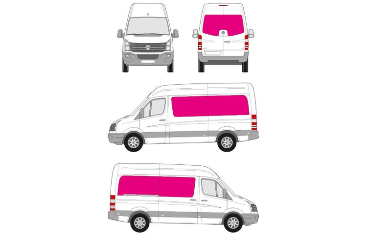 Transporter Digitaldruck