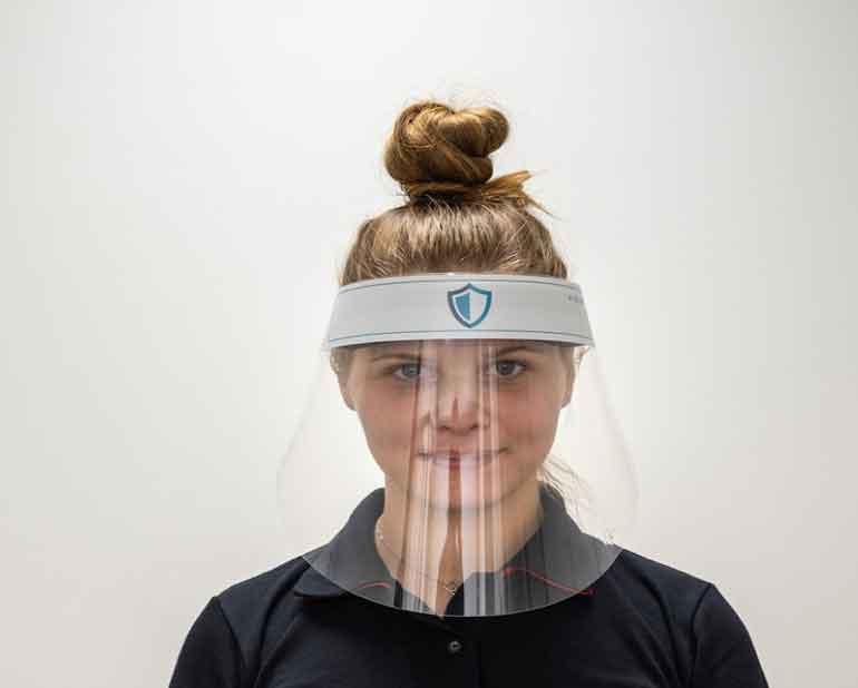 Gesichtsschutz Visier Face Shield